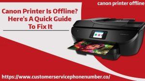 Canon Printrer Offline