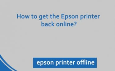 How Do I Fix Epson Printer Offline Issue in Windows?