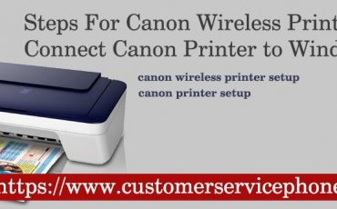 Canon Wireless Printer Setup Procedure For Windows, macOS, Android and iOS Devices