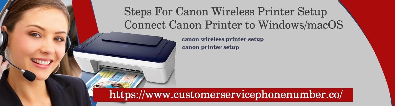 Canon Wireless Printer Setup:  For Windows And Mac