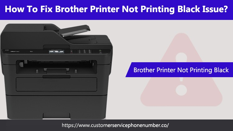 Brother Printer Not Printing Black