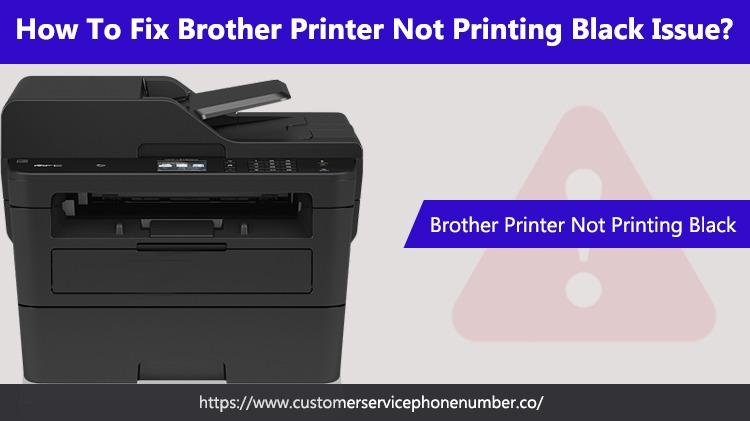 Brother Printer Not Printing Black