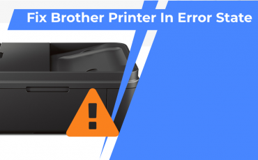 How I Fixed Brother Printer In Error State Problem Quickly