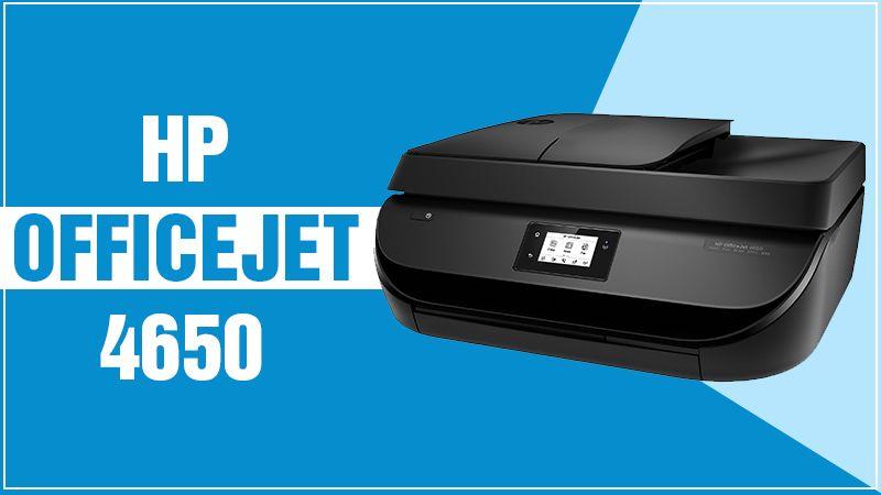 HP Officejet 4650 Printer Setup For Windows & Mac